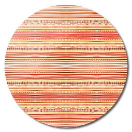 Watercolor striped pattern
