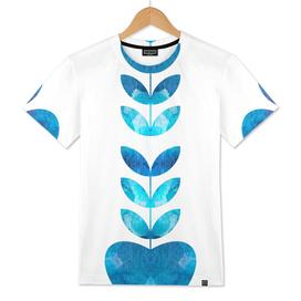Plant heart blue