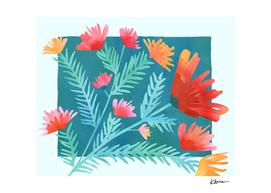Joy! II Watercolor Botanical