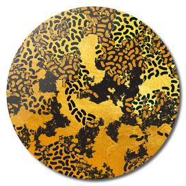 Safary Golden Dreams - Abstract Animal Print