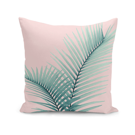 Intertwined - Palm Leaves in Love #2 #tropical #decor #art
