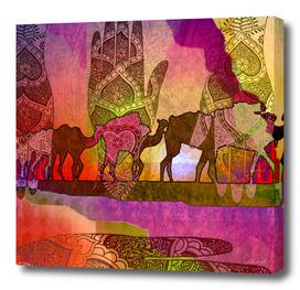 Camel Arabesque 30