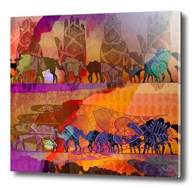 Camel Arabesque 29
