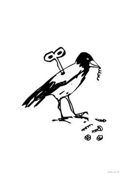 Mechanical Crow