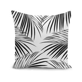 Black Palm Leaves Dream #2 #tropical #decor #art