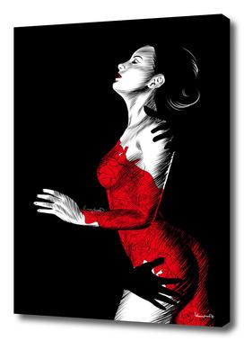 Nightfall in red II