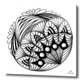 Asymmetric mandala
