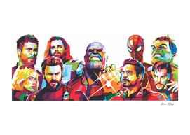 marvel avengers WPAP