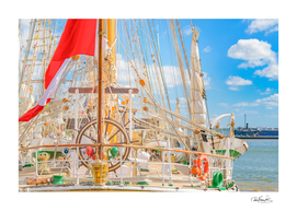 Sailing Ship Naval School Parked03