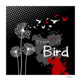 Trash Polka Dandelions Blow Into Birds