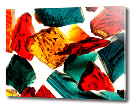 Shards of color