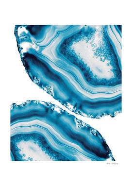 Blue Agate #4 #gem #decor #art