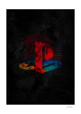 PlayStation dark splatter