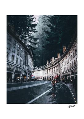 Cycling at Regent Street by GEN Z