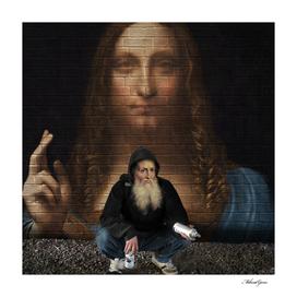 Street Art (Leonardo da Vinci)