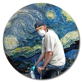 Street Art (Van Gogh)