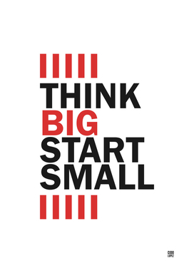 Thing Big Start Small