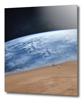 Planet Earth Surreal