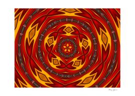 Circle abstract design