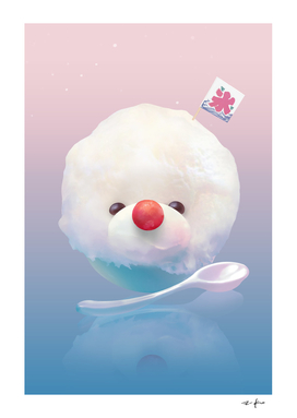 Bichon Fluffy Shaved Ice