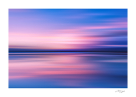 Abstract Sunset III