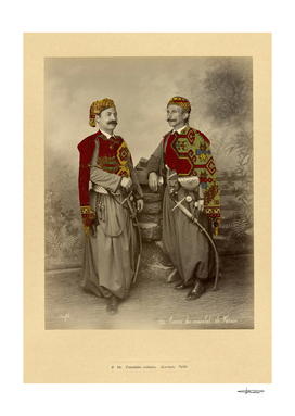 Two Ottoman Soldiers - Kawass