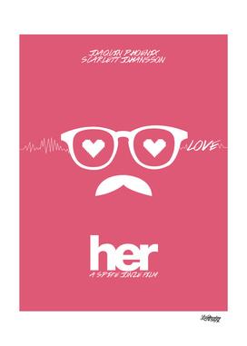 Her poster minimalist