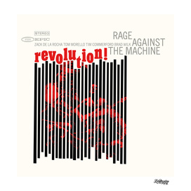 Rage Against the machine Back to past poster