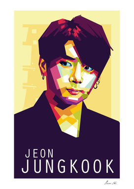 Jeon Jungkook Pop Art