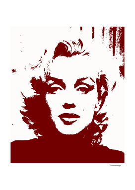 Sadness of Marilyn Monroe
