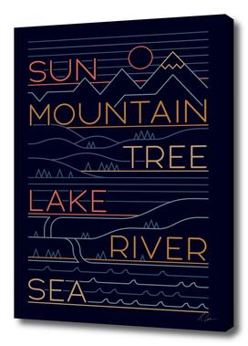 Sun Mountain Tree