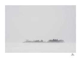 Alberta Farmyard in Blizzard...