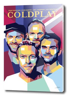 Coldplay Portrait