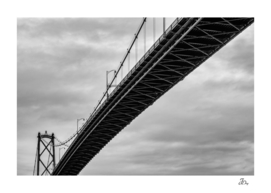 Lions Gate Bridge...