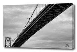 Lions Gate Bridge...
