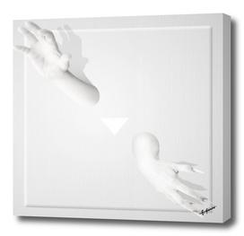 white wall II