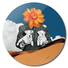 Flower Head Print