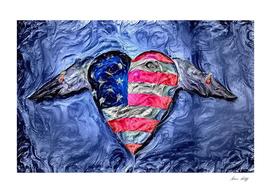 USA Winged Heart