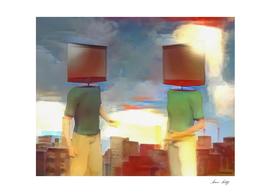 TV Head Men