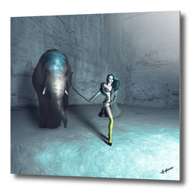 Blue Cirque II