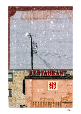 Restaurant & Snow...