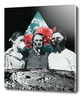 Gas Mask Girls Print