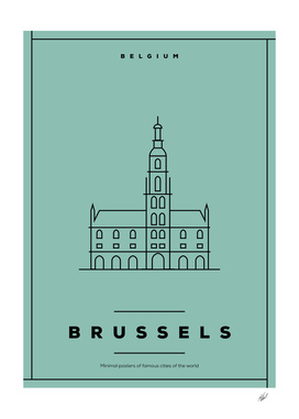 Brussels Minimal Poster