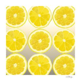 Lemon Slice Collage