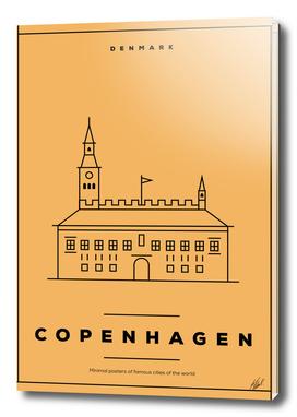 Copenhagen Minimal Poster