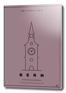 Bern Minimal Poster