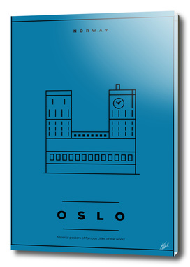 Oslo Minimal Poster