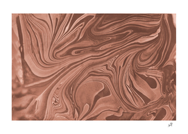 Original Marble Texture - Melting Chocolate