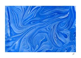 Original Marble Texture - Ocean Blue