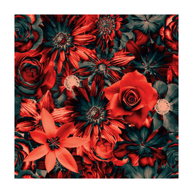 Dazzling Flowers - Red Passion - Enchanted Flowers